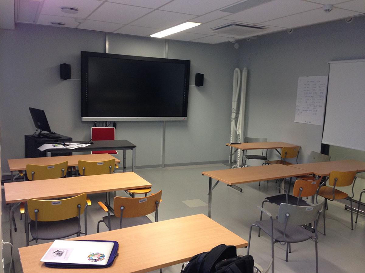 Seminarraum an der finnischen Uni